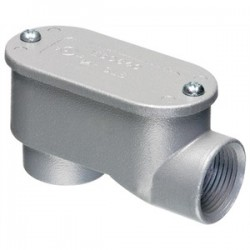 Arlington Industries - 920SLB - Arlington 920SLB Conduit Body, Type SLB, 1/2, Cover/Gasket, Aluminum