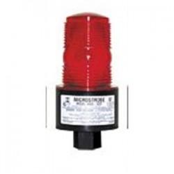 TOMAR Electronics - 490S-120-R - TOMAR Electronics 490S-120-R Strobe, Low Profile, Type: Single Flash, 120VAC, Lens: Red