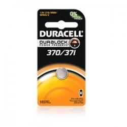 Duracell - D370/371PK - Duracell D370/371PK Battery, 1.55V, D370/D371, Zinc/Monvalent Silver Oxide, Button Cell