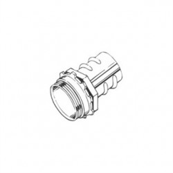Hubbell - 2282 - Hubbell-Raco 2282 Screw-In Connector, 1/2, Zinc Die Cast