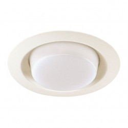 Acuity Brands Lighting - 21-WH - Juno Lighting 21-WH Drop Opal Trim, 6, White