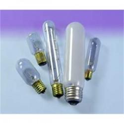 Osram - 15T6-130V - SYLVANIA 15T6-130V Incandescent Bulb, T6, 15W, 130V, Clear