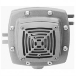 Eaton Electrical - ETH2703 - Cooper Crouse-Hinds ETH2703 Horn Signal, Single Projector Type, Hub: 1/2, 115V, Aluminum