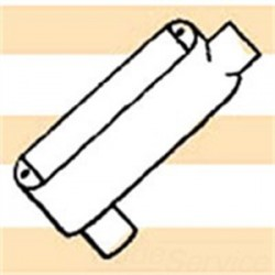 Mulberry Metal - 12857 - Mulberry Metal 12857 Conduit Body, Type: LB, Size: 2-1/2, Cover/Gasket, Aluminum
