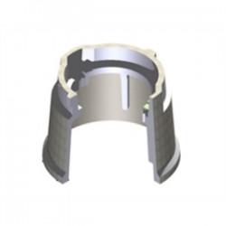 Oldcastle Precast - 0910104HGE206UO - Oldcastle Precast 0910104HGE206UO Round Pull Box, Diameter: 9, Depth: 10, ELECTRIC-Lid, Concrete