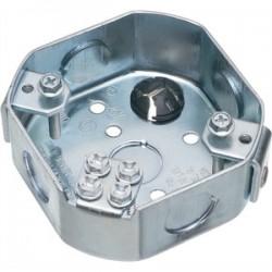 Arlington Industries - FBS415 - Arlington FBS415 4 Octagon Box, 1-1/2 Deep, KOs, Steel