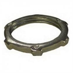 Emerson - 1-125S - OZ Gedney 1-125S Conduit Locknut, Steel, 1-1/4