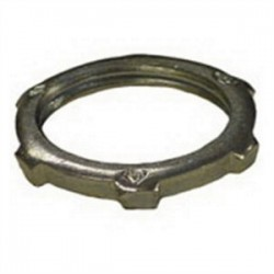 Emerson - 1-400 - OZ Gedney 1-400 Locknut, Size: 4, Material: Steel/Zinc
