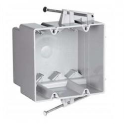 Pass & Seymour - S235-RACMH - Pass & Seymour S235-RACMH Switch/Outlet Box, 2-Gang, Depth: 3, Nail-On, Non-Metallic