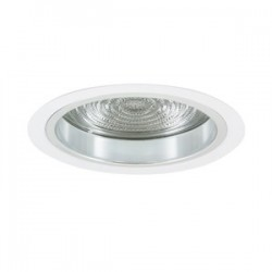 Elite Lighting - 6503CL-WH - Elite Lighting 6503CL-WH Reflector Trim, 6, Clear Reflector/White Trim