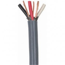 Coleman Cable - 503110409 - Coleman Cable 503110409 Bus Drop Cable, 8/3, Gray, 250'