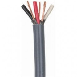 Coleman Cable - 503130409 - Coleman Cable 503130409 Bus Drop Cable, 2/3, Gray, 250'