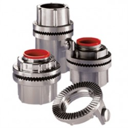 Eaton Electrical - STAG 3 - Cooper Crouse-Hinds STAG 3 Grounding Hub, 1, Insulated, Gasketed, Aluminum