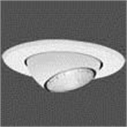 Eaton Electrical - 5071P - Halo 5071P Eyeball Trim, Adjustable, 5, White