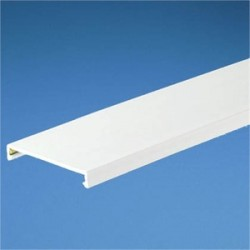 Panduit - C25WH2 - Panduit C25WH2 Wiring Duct Cover, PANDUCT, 25mm W x 2m Long, PVC, White
