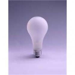 Osram - 150A23RS130V - SYLVANIA 150A23RS130V Incandescent Bulb, Rough Service, A23, 150W, 130V, Frosted
