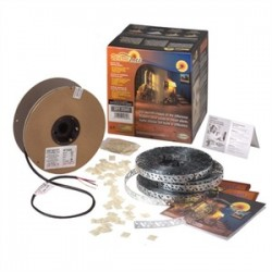Emerson - DFT1098 - Easyheat DFT1098 Cable Kit, 93-102 ft, SIlver