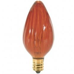 Satco - 25F10/A - Satco 25F10/A Incandescent Lamp, F10, 25W, 120V, Amber