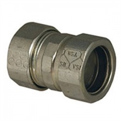 Hubbell - 2923US - Hubbell-Raco 2923US EMT Compression Coupling, 3/4, Steel