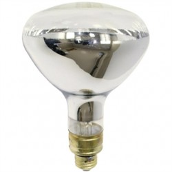 Osram - 375R40/1-120V - SYLVANIA 375R40/1-120V Incandescent Heat Lamp, R40, 375W, 120V, Clear