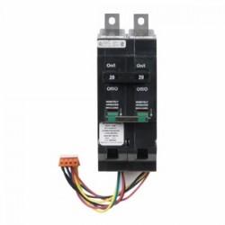 Eaton Electrical - GHQRSP2020 - Eaton GHQRSP2020 Breaker, 20A, 2P, 277 VAC, Type GHQ, 14 kAIC, Rem Cont Solenoid