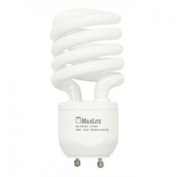 Candela - MLS18GUWW - Candela MLS18GUWW Compact Fluorescent Lamp, Twist Lock, 18W, 2700K, GU24 Base