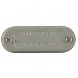 Appleton Electric - 270F - Appleton 270F Conduit Body Cover, 3/4, Form 7, Iron Alloy
