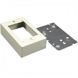 Wiremold / Legrand - V5741 - Wiremold V5741 Device Box, 1-Gang, 500/700 Series, Ivory