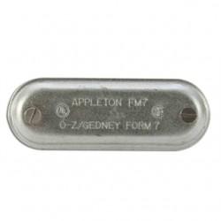 Appleton Electric - 370 - Appleton 370 Conduit Body Cover, 1, Form 7, Steel