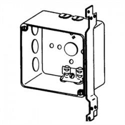 Appleton Electric - 4SRDVB-PL - Appleton 4SRDVB-PL 4 Square Box, Welded, Metallic, Vertical Bracket, 2-1/8 Deep
