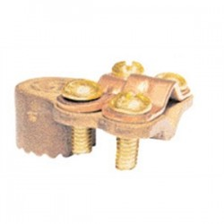 Greaves - G3BS - Greaves G3BS Ground Clamp, Water Pipe: 1-1/4 - 2, Max Wire Size: 4/0 AWG, Brass