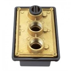 Teddico - PB-75 - BWF PB-75 Swimming Pool Junction Box, 1-Gang, 2-27/32 Deep, 3/4 Hubs