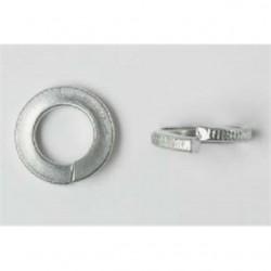 BizLine - 14LWSS - Bizline 14LWSS Split Lock Washer, 1/4, Stainless Steel, 100/PK