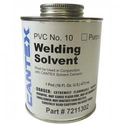 Cantex - 7210413 - Cantex 7210413 PVC Cement, 1 Quart, All Weather