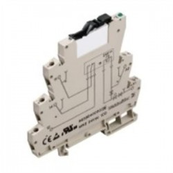 Weidmuller - 8533640000 - Weidmuller 8533640000 Relay Assembly, 1P, 24VDC, 6A, Microseries, Screw Connection