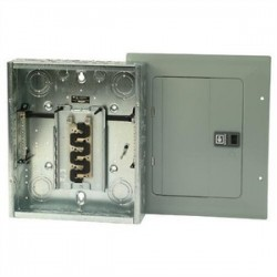 Eaton Electrical - BR1224L125G - Eaton BR1224L125G Load Center, Main Lug, 125A, 120/240V, 1P, 12/24, NEMA 1, Grd Bar