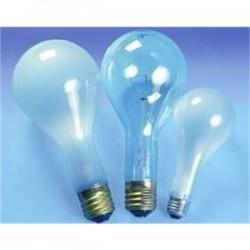 Osram - 202PS25/CL-125V - SYLVANIA 202PS25/CL-125V Incandescent Bulb, PS25, 202W, 125V, Clear