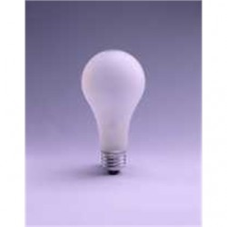 Osram - 200A23-120V - SYLVANIA 200A23-120V Incandescent Bulb, A23, 200W, 120V, Frosted