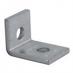 Atkore - P1068 EG - Unistrut P1068 EG Two Hole Corner Angle, 1-5/8 x 2-1/4, Steel/Electro-Galvanized