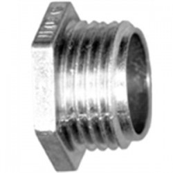 Bridgeport Fittings - 1102-DC - Bridgeport Fittings 1102-DC Chase Nipple, 1/2, Zinc Die Cast