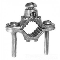 Greaves - G2BS - Greaves G2BS Ground Clamp, Water Pipe: 1-1/4 - 2, Max Wire Size: 2 AWG, Bronze