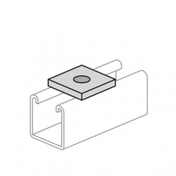 Atkore - PS 619 3/8 SS - Power-Strut PS 619 3/8 SS Flat Square Washer