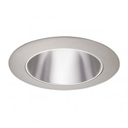 Acuity Brands Lighting - 17PT-SC - Juno Lighting 17PT-SC Cone Trim, 4, Pewter Alzak Reflector/Satin Chrome