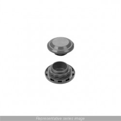 Hammond Manufacturing - SDA412 - Hammond Mfg SDA412 Breather Kit, IP45, Diameter: 2.6, Color: Light Gray, Polycarbonate