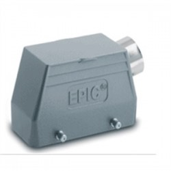 Lapp Systems - 10.0421 - Lapp 10.0421 Connector, Rectangular, HBE Housing, Side Entry, Double Lever Bolts
