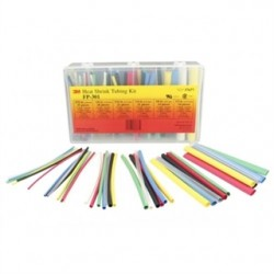 "3M - FP301-3/32-6""-ASSORTED-10-35 P - 3M FP301-3/32-6-Assorted-10-35 P Heat Shrink, Thin Wall, Flexible Polyolefin Tubing, 600V"