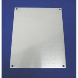 Allied Moulded - PA164 - Allied Moulded PA164 Panel For Enclosure, 16 x 14, Aluminum