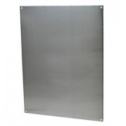 Allied Moulded - PA206 - Allied Moulded PA206 Aluminum Enclosure Back Panel For Am2068