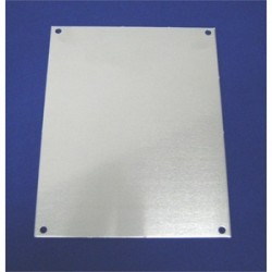 Allied Moulded - PA2420 - Allied Moulded PA2420 Panel For Enclosure, 24 x 20, Aluminum