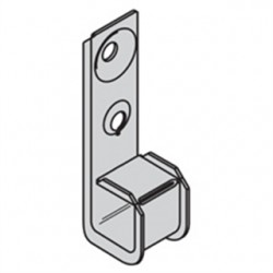 Eaton Electrical - BCH12 - Silver J-Hook, Wall Mounting Location, 30 lb. Max. Load Capacity